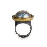 Mexican Mabe Pearl Ring