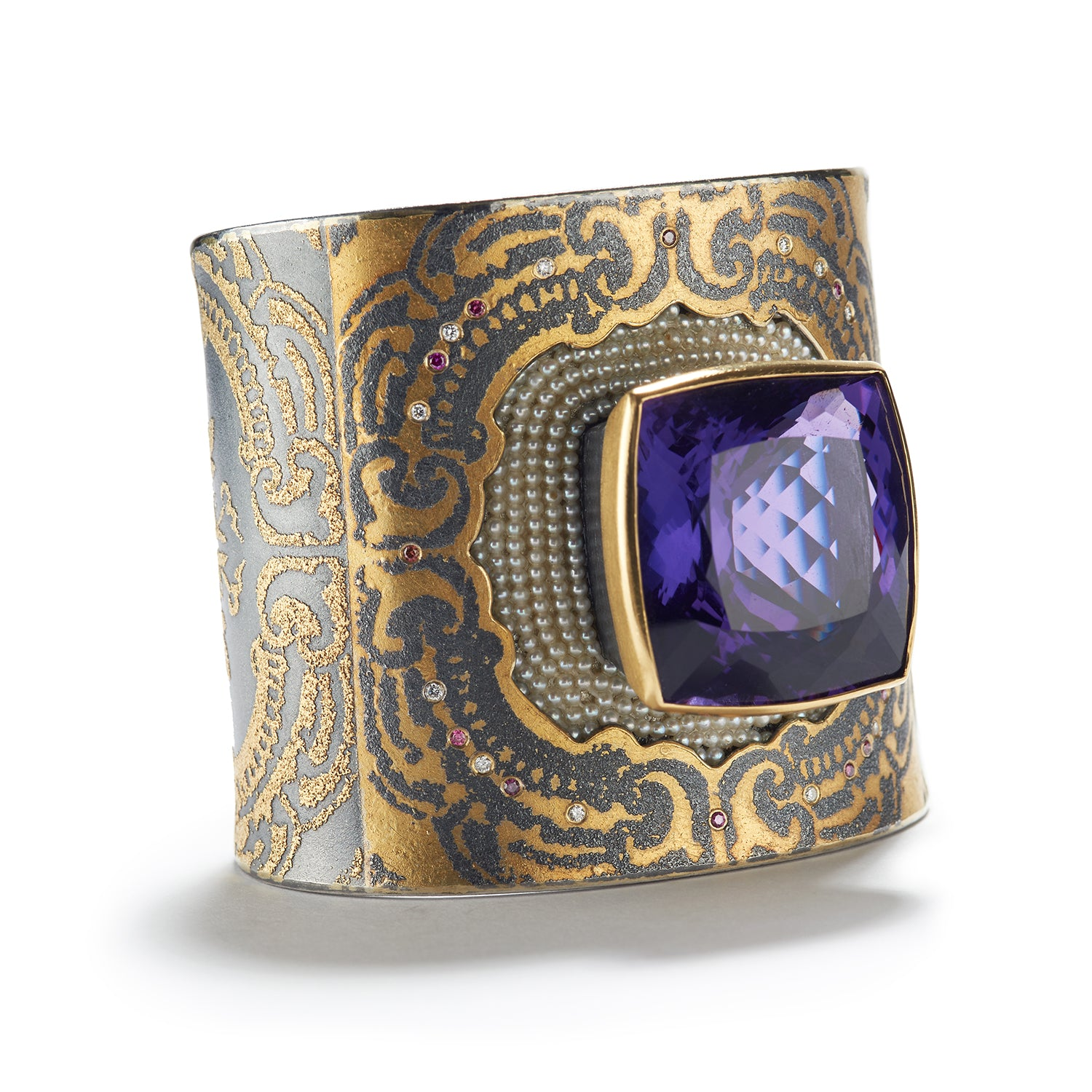 Captivating Brilliance Cuff Bracelet