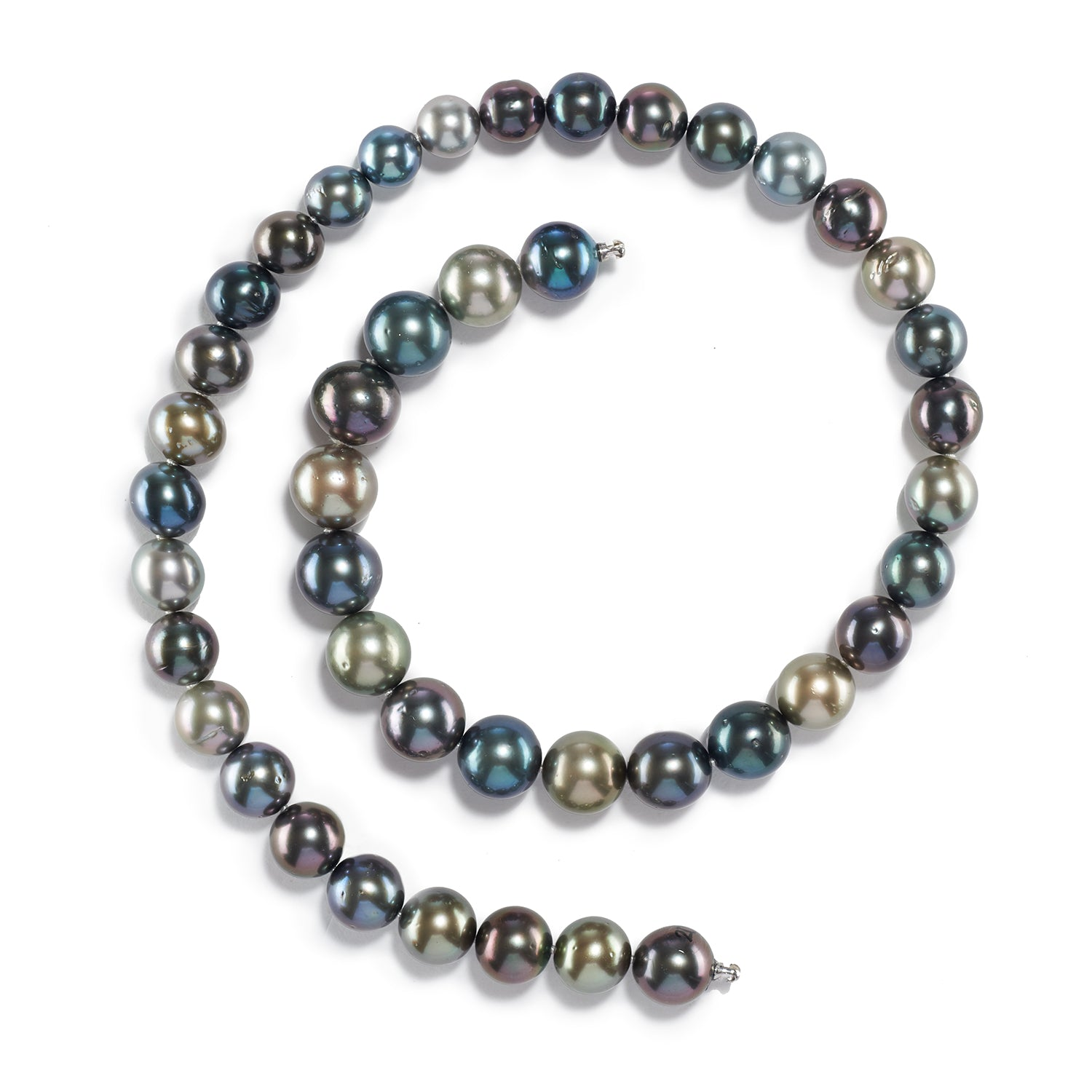 Varied Tahitian Pearl Necklace Strand