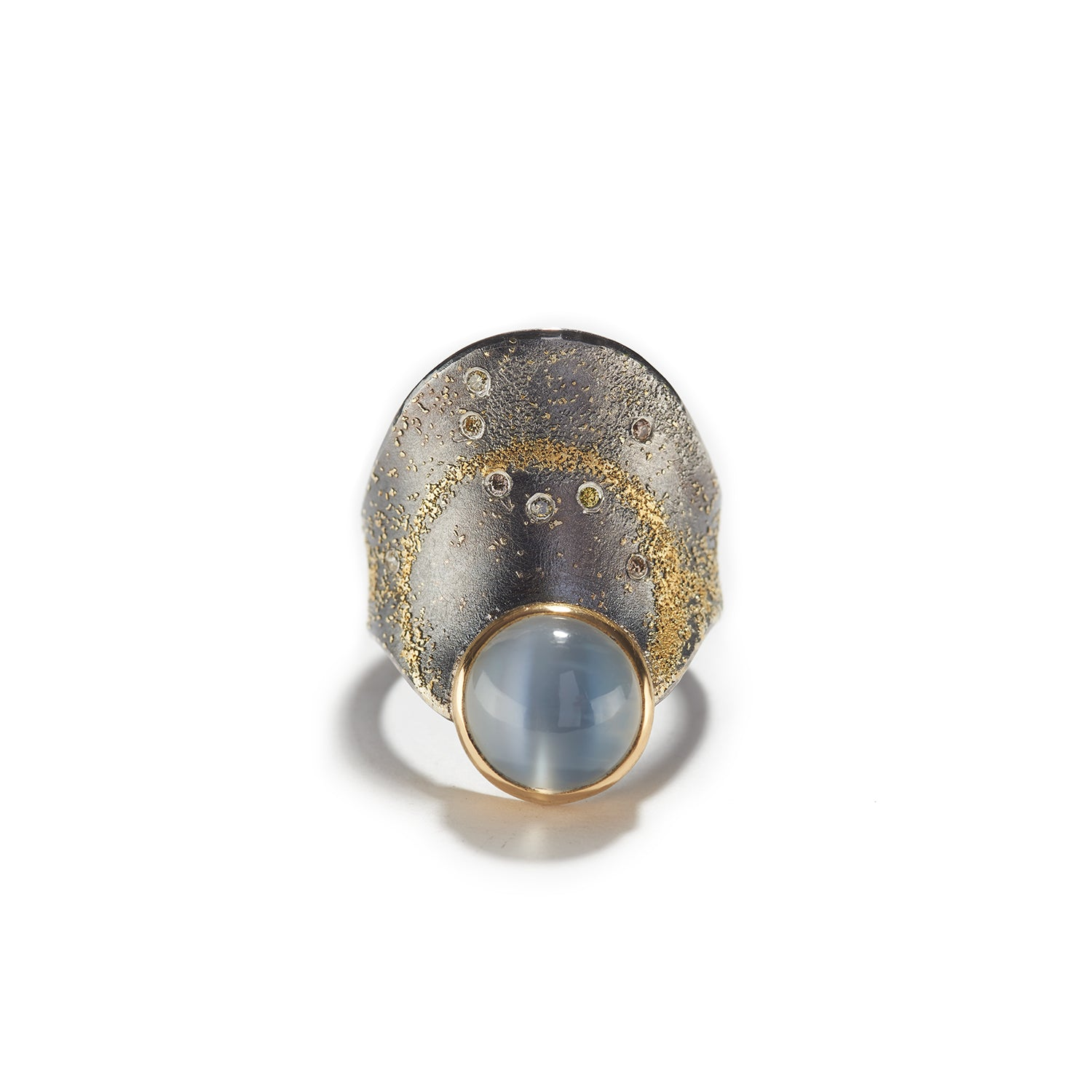 Moonstone Ring on Sterling Silver