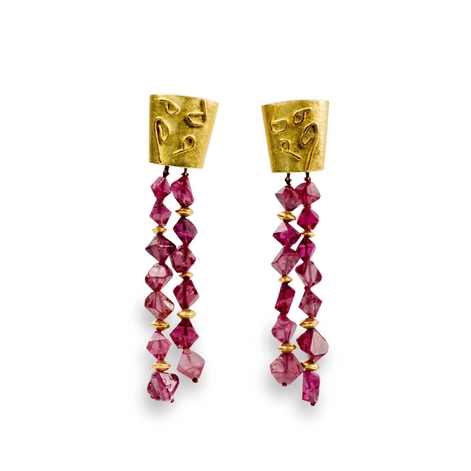 product gems beautiful ruby ear earrings index dangling benny jewellery