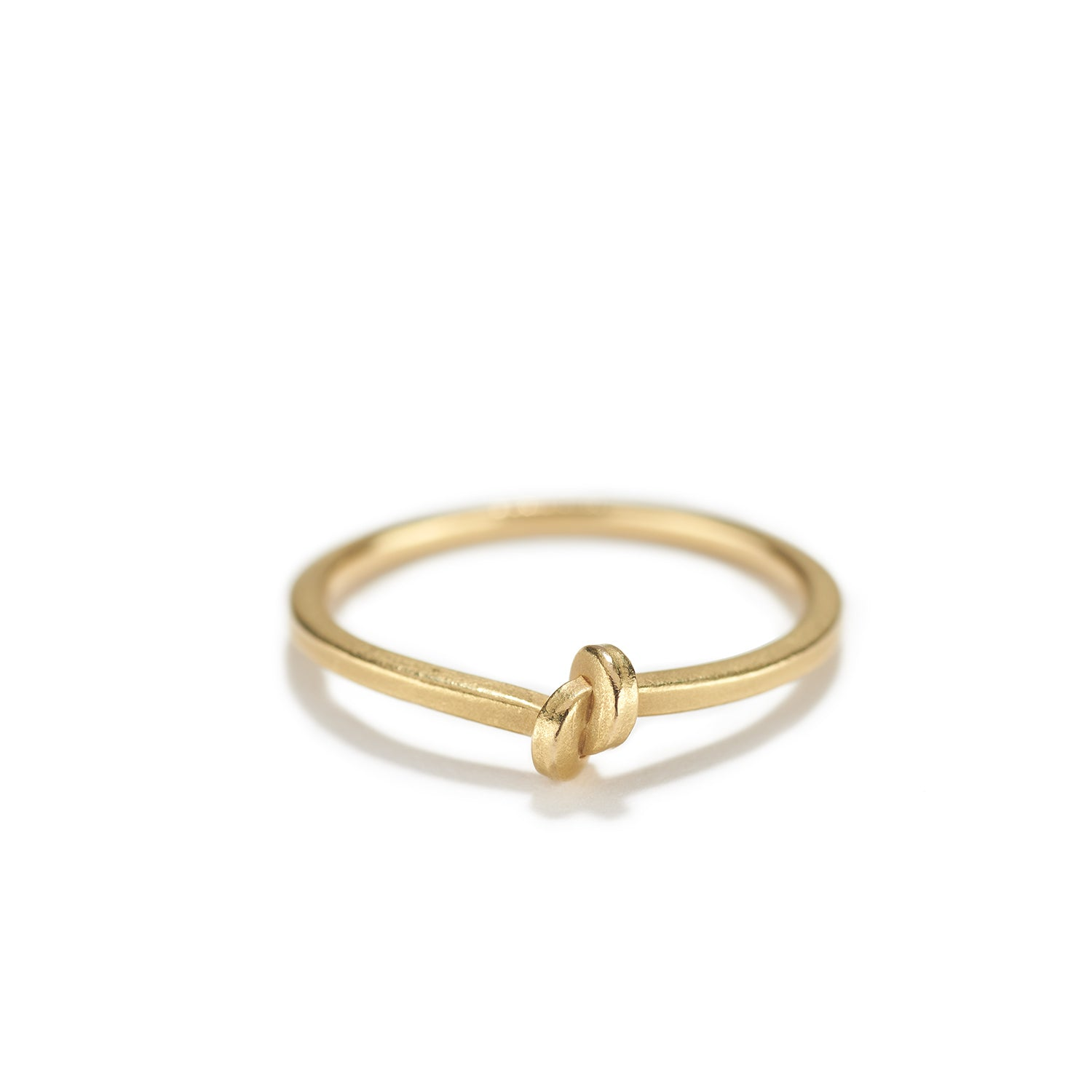 Small Gold Knot Ring~1.5mm
