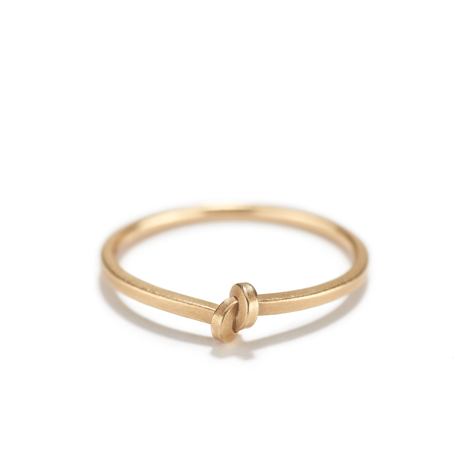Rose Gold Knot Ring~1.5mm