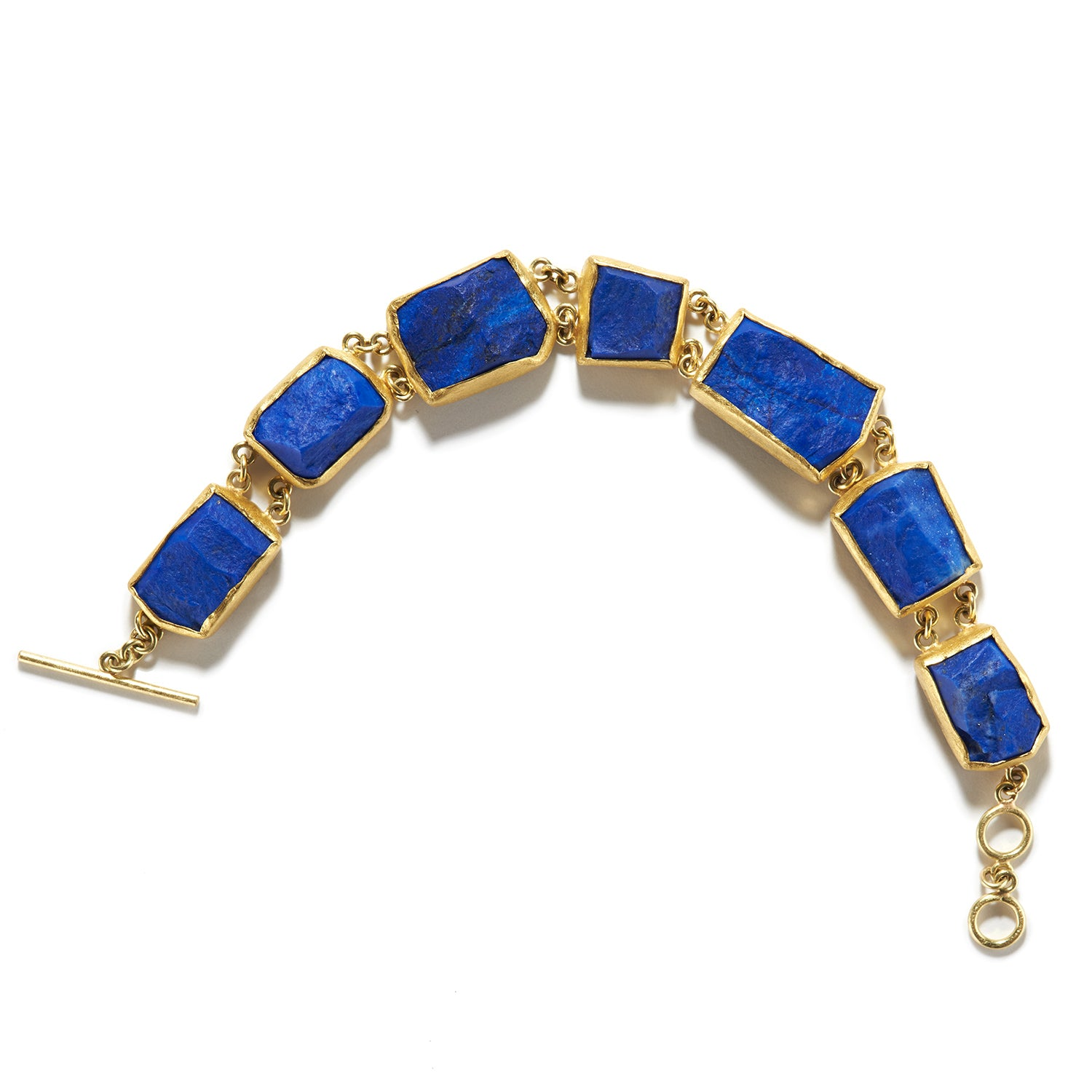 Rough Lapis Bracelet