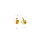 Small Gold Propeller Shaped Dangles