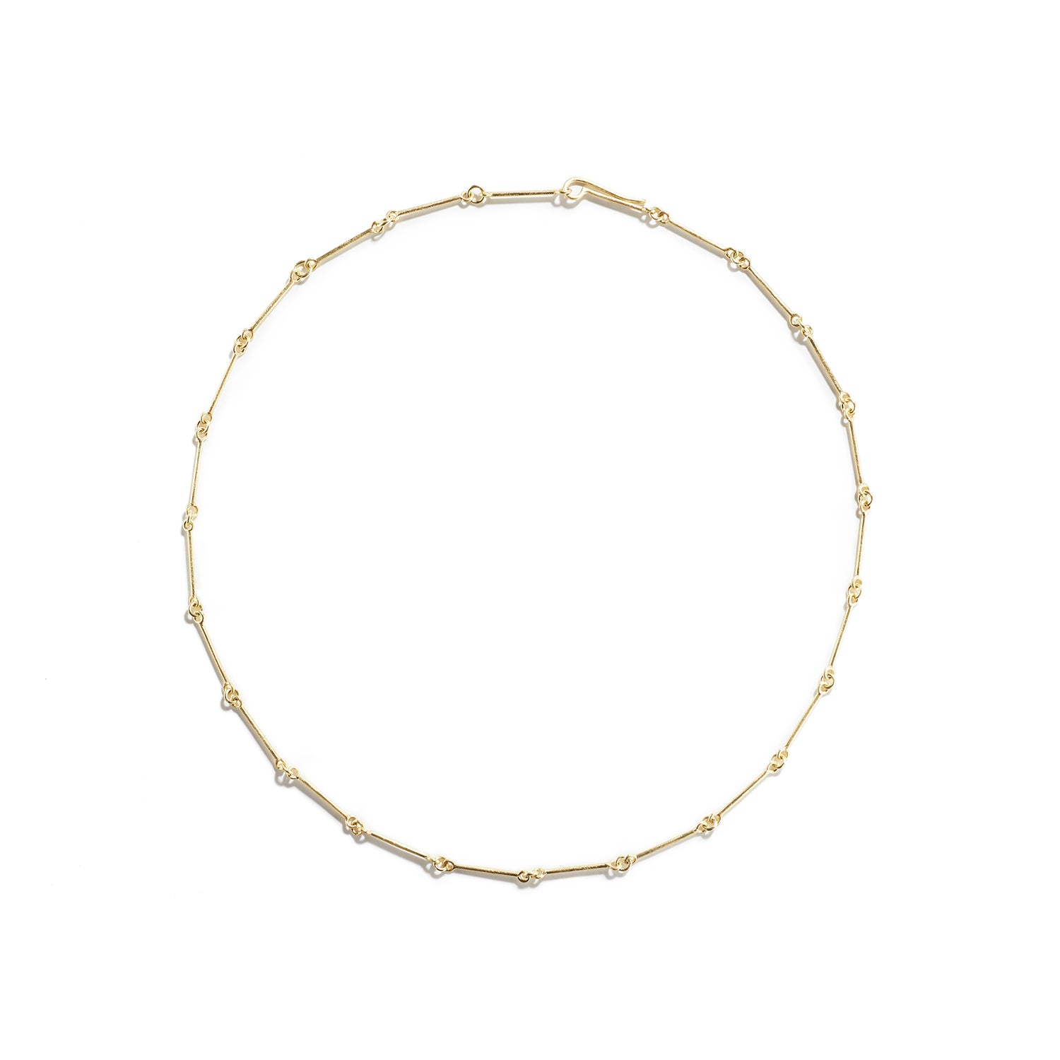 Segmented Gold Necklace