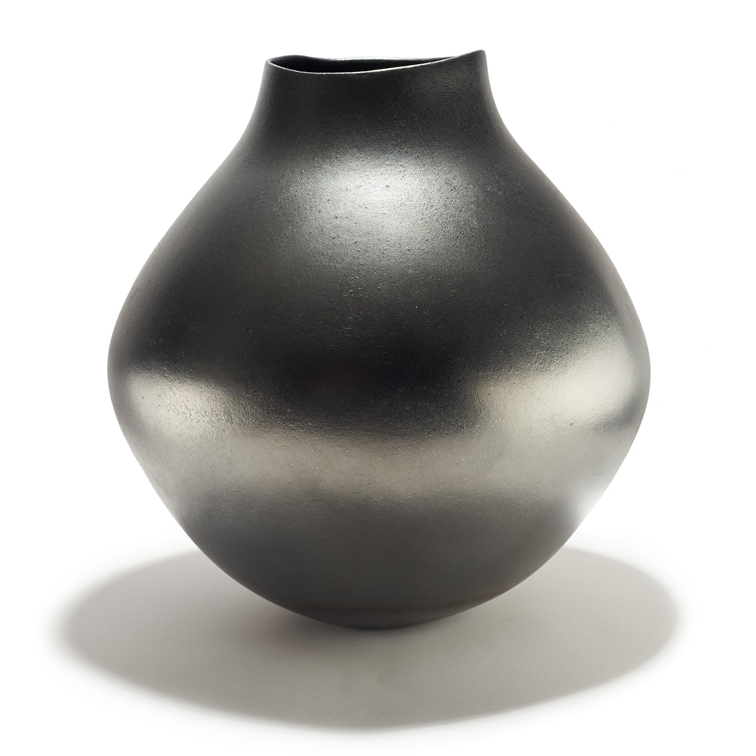 Gun Metal Gray Jar