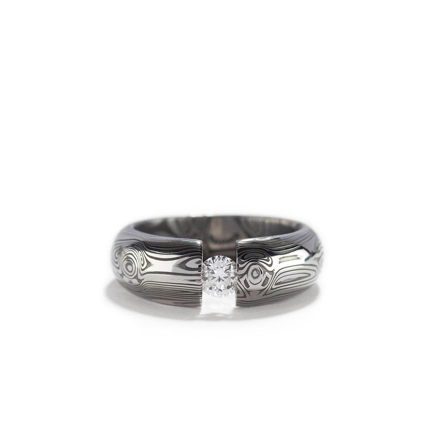 Diamond Analemma Low Dome Ring~6.5mm