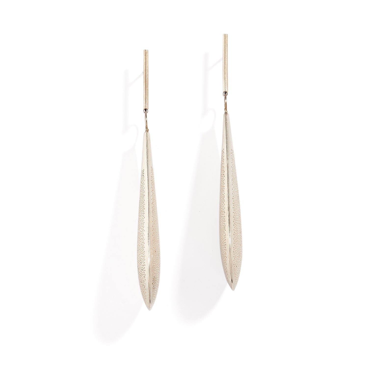 Perforated Paddle Earring