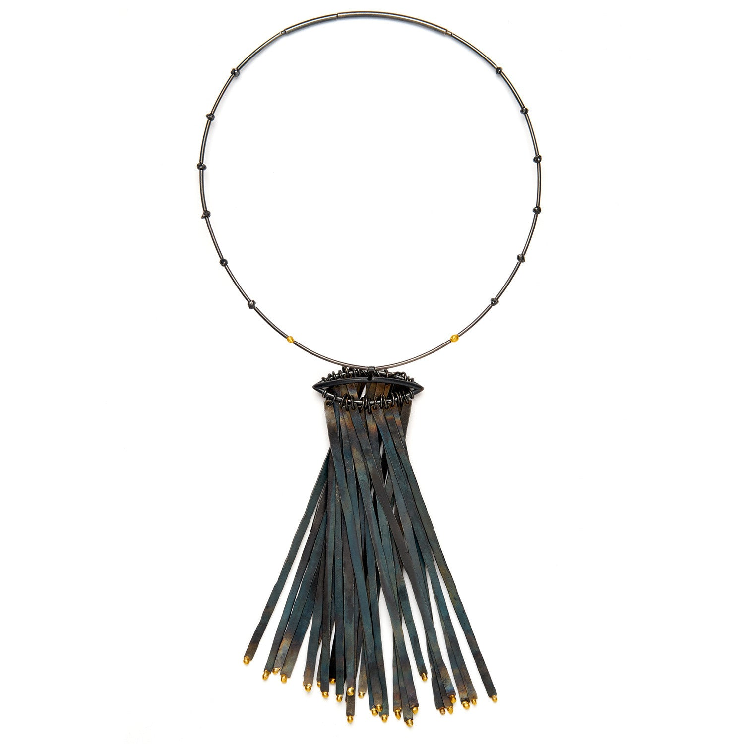 Fringe Duster Necklace