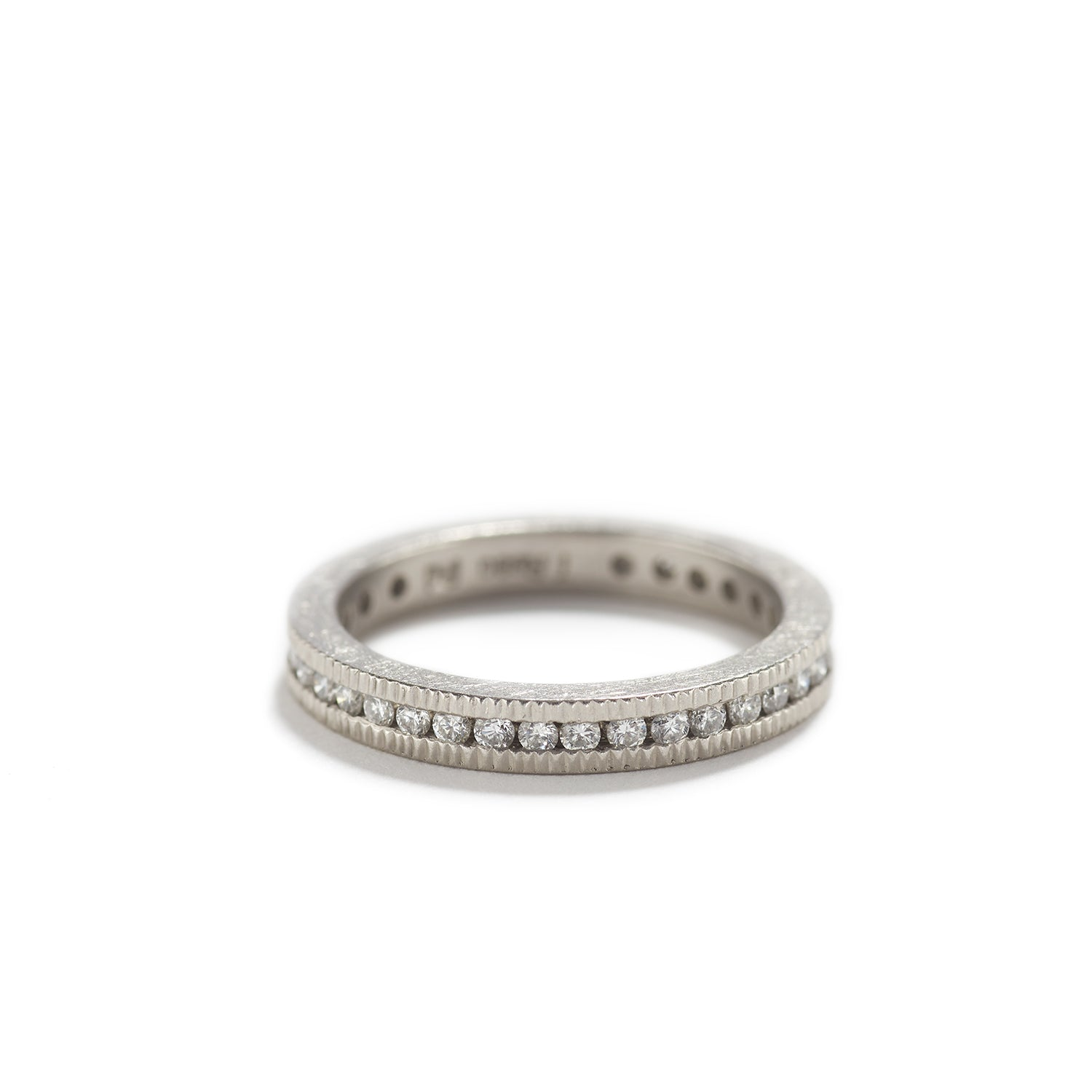 Eternity Band with White Diamonds