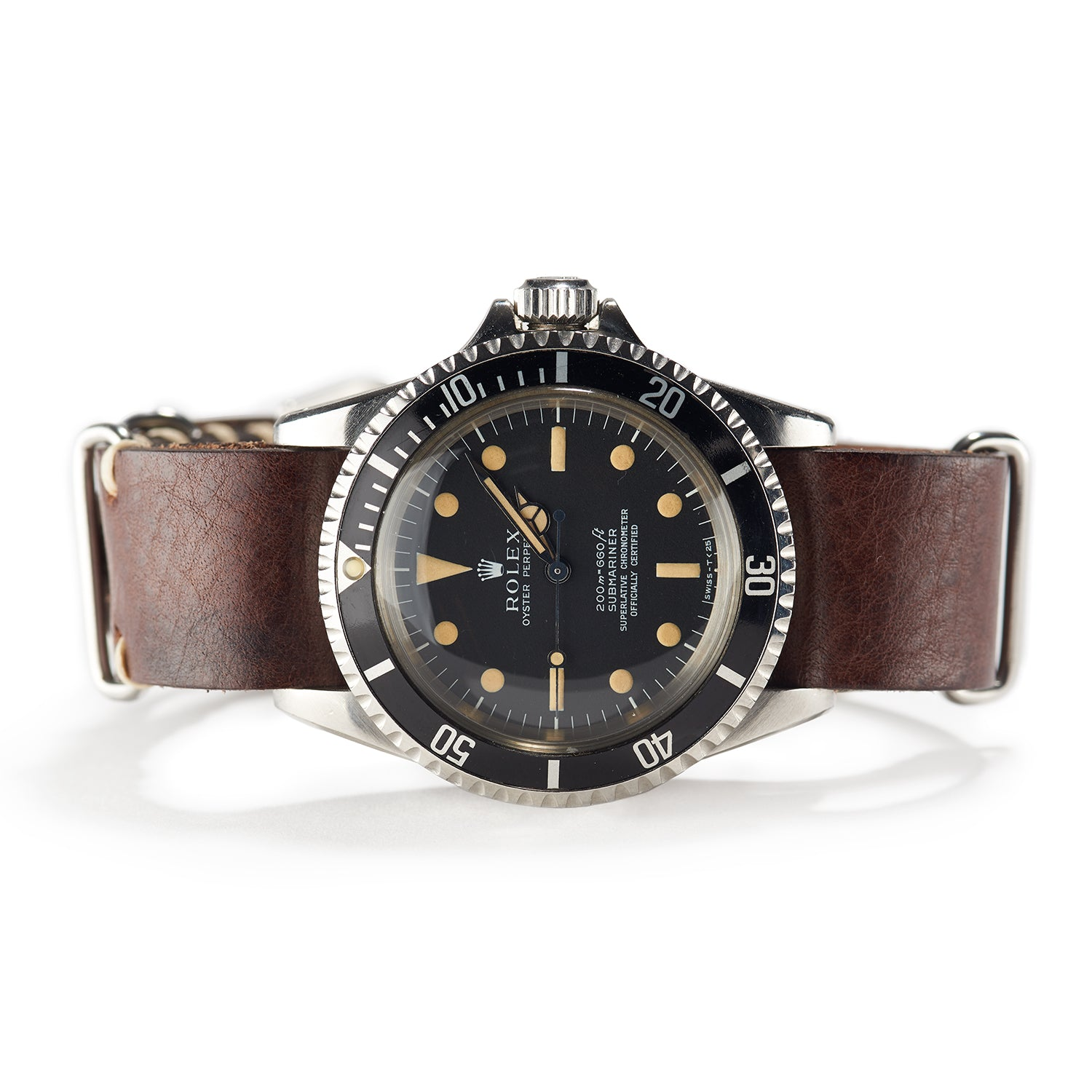 Rolex Submariner Chronometer - Model 5512, 1968