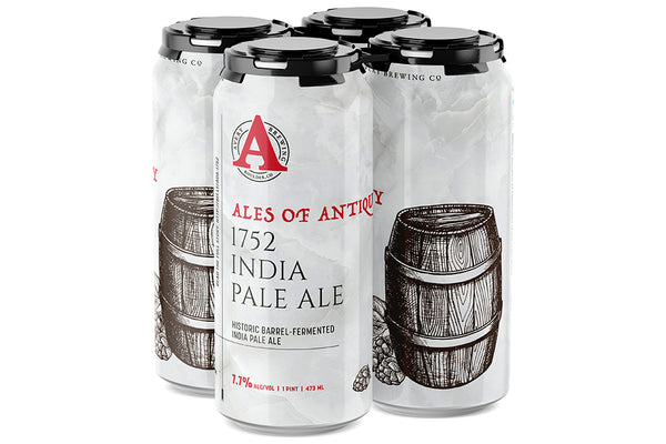 Ales of Antiquity: 1752 INDIA PALE ALE