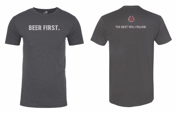 Beer First Tee
