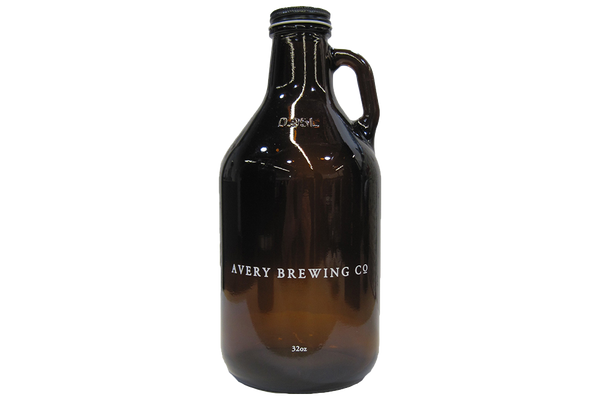 32 oz Glass Avery Growler