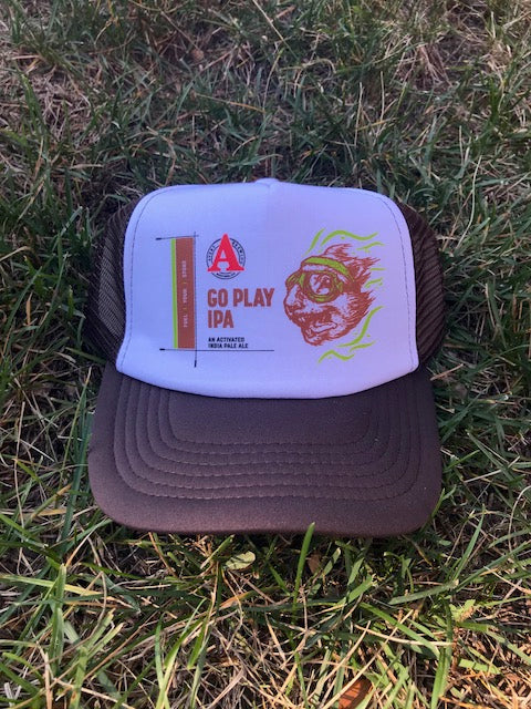 'Go Play IPA' Foam Trucker