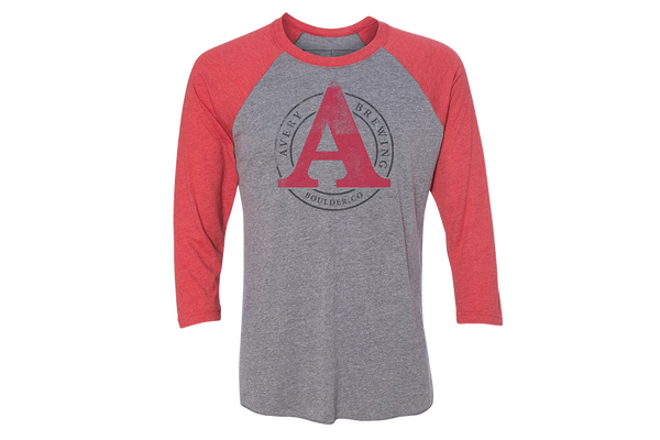 Avery 3/4 sleeve baseball shirt