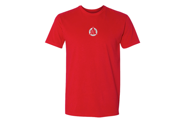 Red Avery Tee