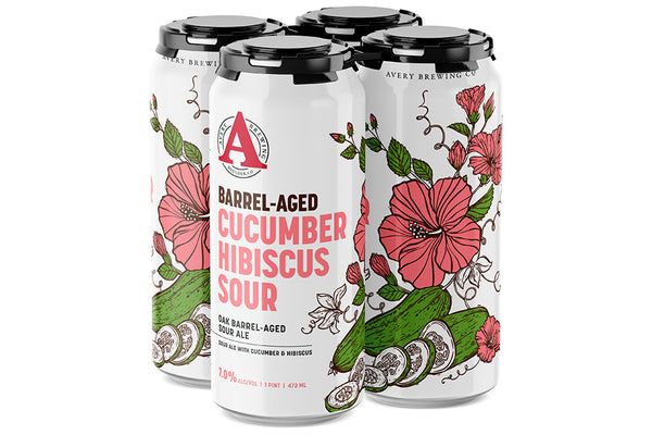 CUCUMBER HIBISCUS SOUR 4-Pack