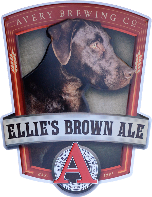 Ellie's Brown Ale Tin Tacker