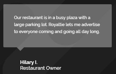 Royaltie-testimonial-bluetooth-beacon-gem-marketing-restaurant-food-truck