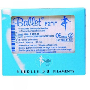 Depilatory - Ballet Insulated Electrolysis Needles - Breizh Esthetic & Salon Supply