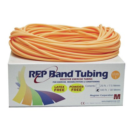 Regency - EXERCISE TUBING LATEX FREE PEACH FT - Fitness Therapy