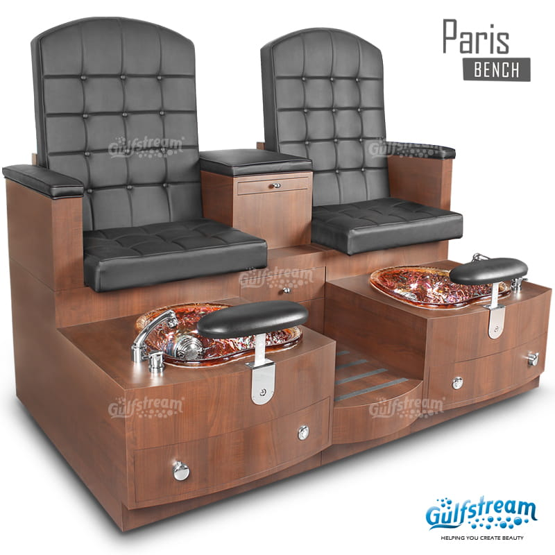 Gulfstream- Paris Double Bench -Pedicure Spas