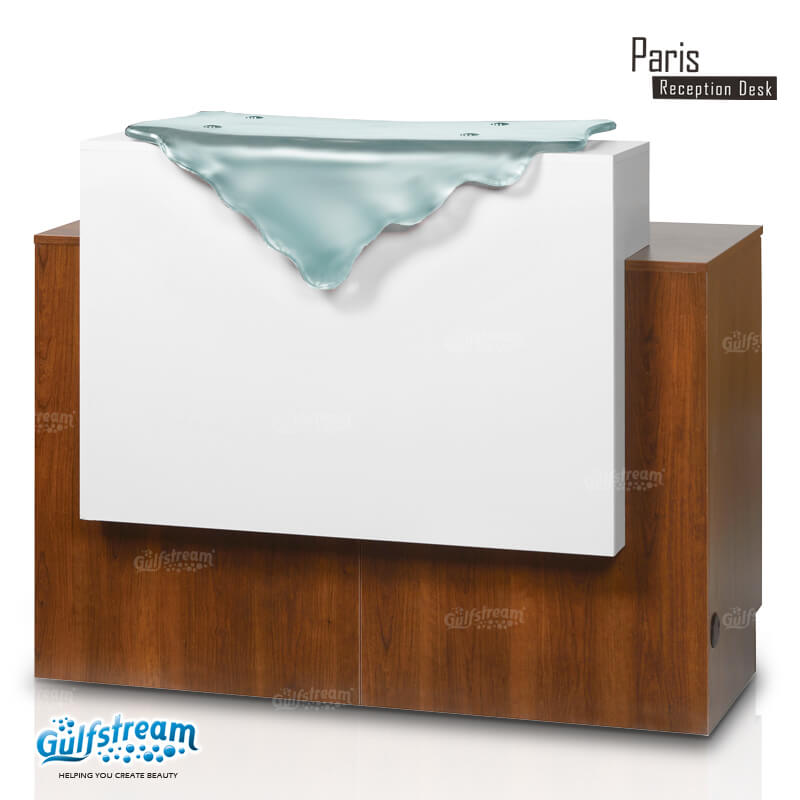 Gulfstream- 46 inch Paris reception desk -Salon Furniture