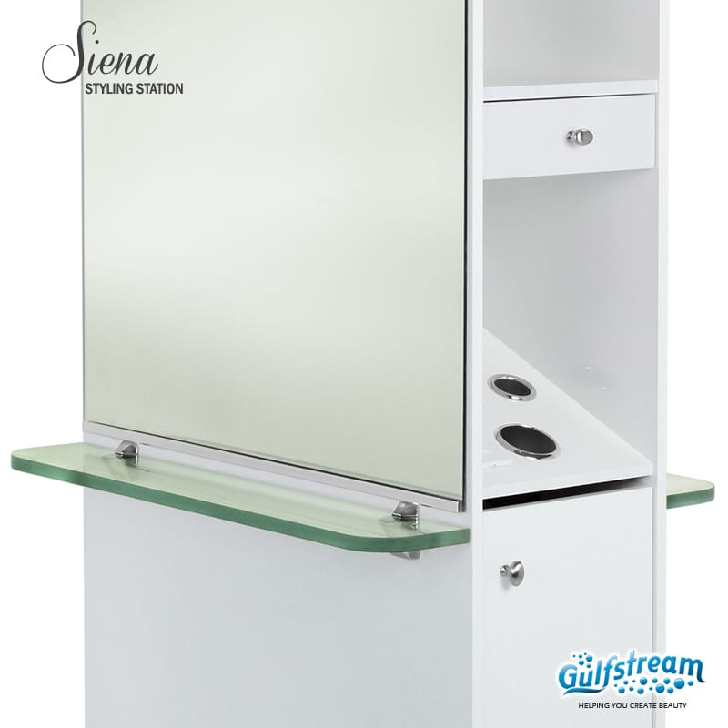 Gulfstream- Sienna Styling Station -Salon Furniture