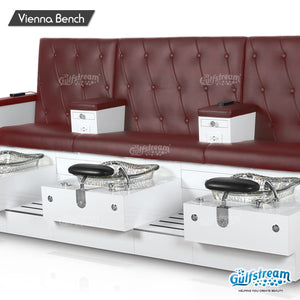 Gulfstream- Vienna Triple Bench -Pedicure Spas