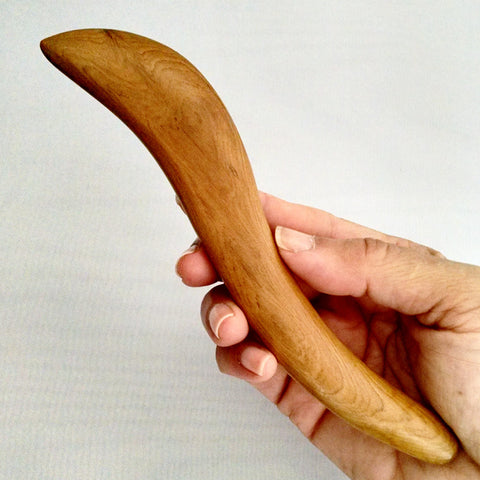 Massage Tool/Gua Sha Tool - Long Half Paddle