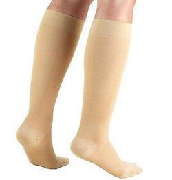 Stockings, Moderate Compression, Below-knee, Closed toe - Truform Leg Health brand