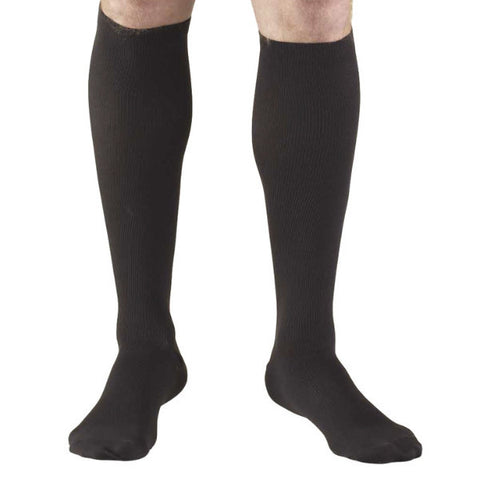 Socks, Moderate Compression, Men's over-the-calf Length - Truform Leg Health Brand