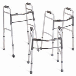 Walker, Dual-Button Folding Walker, Call 310-260-9633 for Rental Options
