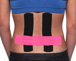 Kinesio Tape - Athletic Tape, Pre-cut for the Back
