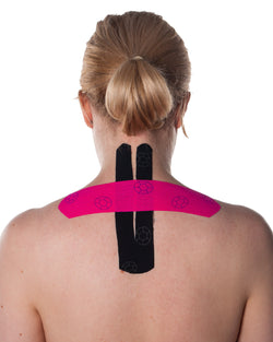 Kinesio Tape - Athletic Tape, pre-cut for the Neck