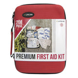 First Aid Kit - 208 piece Premium Kit, Lifeline Brand