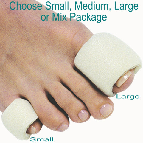 Footcare -Tubular Foam Toe Bandages, PediFix Brand