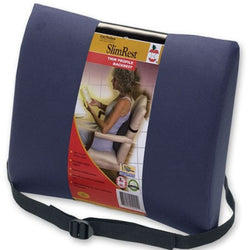 Lumbar Cushion/Support, Thin Profile - SlimRest Brand