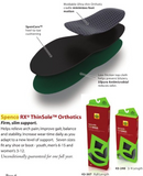 "Orthotic Arch Supports, ""Thinsole"" full-length - Spenco Brand"