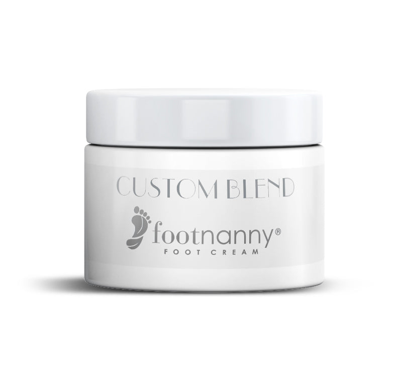 Footnanny CUSTOM Foot Cream 8oz