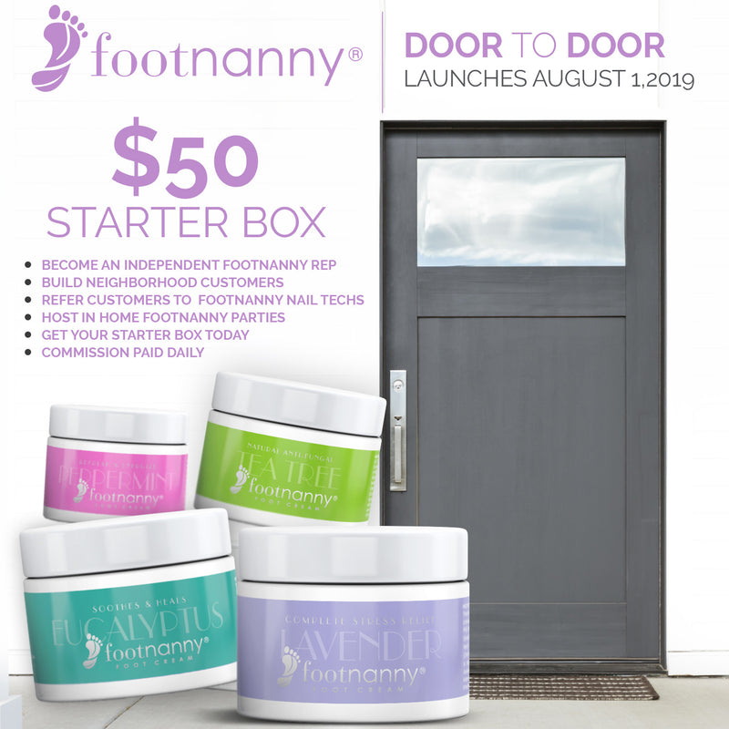 Footnanny Door To Door Sales Kit