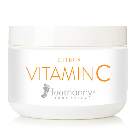 Footnanny Vitamin C Foot Cream  NEW