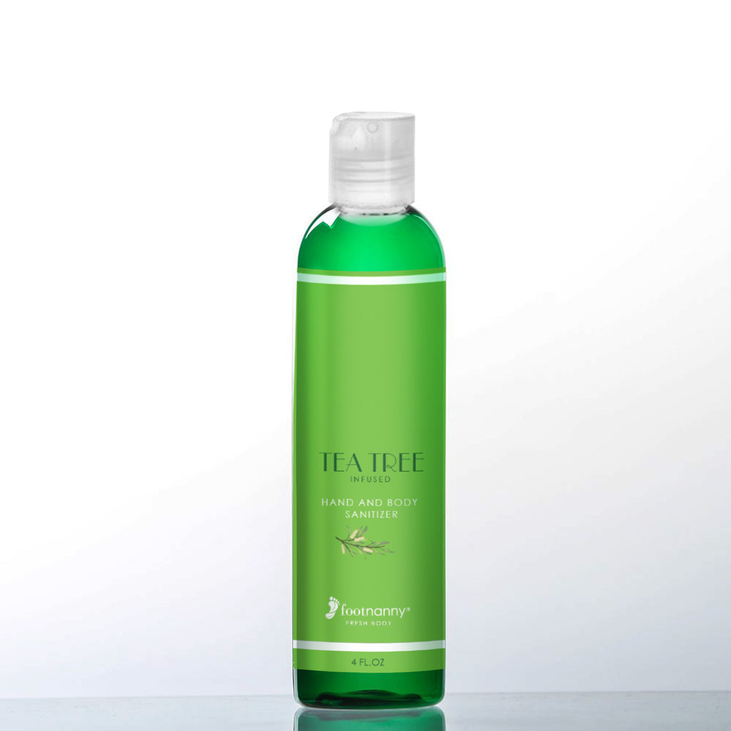 Tea Tree Infused Hand and Body Sanitizer NEW!