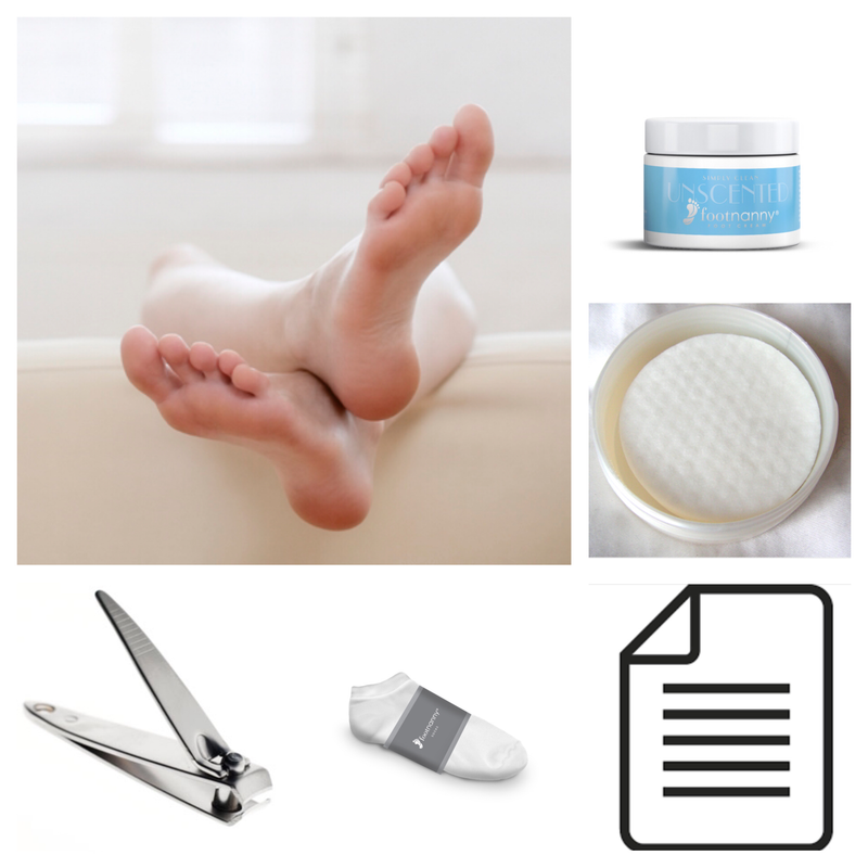 Footnanny Toenail Analysis Kit