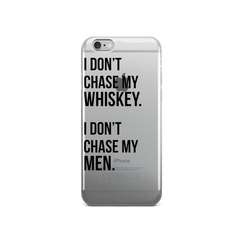 I DON'T CHASE Case