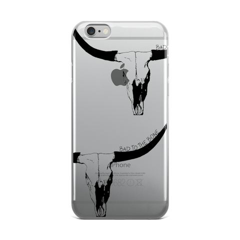 BAD to the BONE iPhone Case