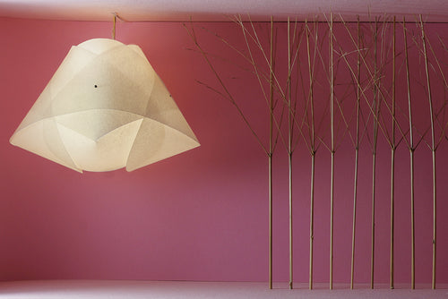 lightbyclar popup lampshade London minimalistic geometry calm