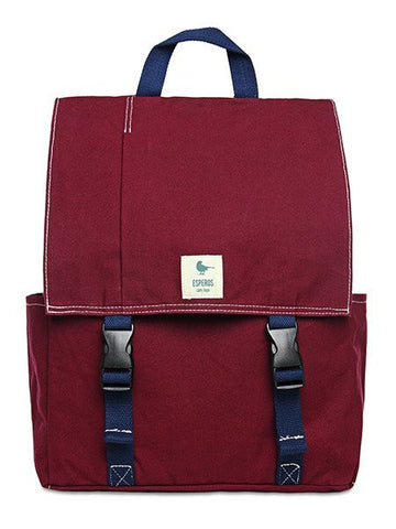 Burgundy Classic Backpack - LatchCo - 1